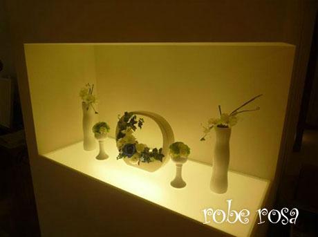 埼玉県桶川市のインテリアフラワーとハンドメイド雑貨の工房&貸ギャラリー robe rosa (ローブローザ)